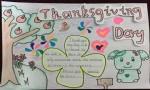 五年级thanksgivingday英语手抄报