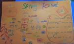 一年级springfestival英语手抄报