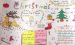Christmas英语手抄报图片、资料
