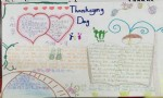 ThanksgivingDay英语手抄报图片