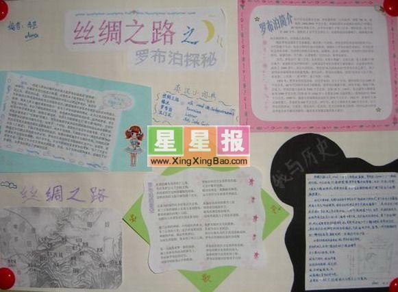 bytes) 指导老师: 李玉容 美术编辑: 钱秀珍 小学六年级手抄报——