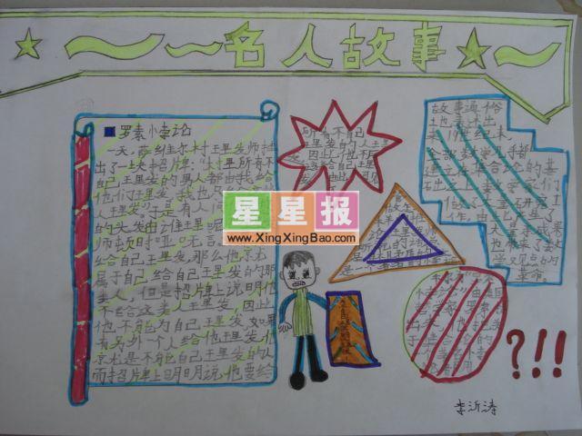 手抄报版面设计过程在孙本团老师的指导下完成.