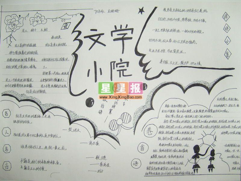 手抄报版面设计过程在徐明锋老师的指导下完成.