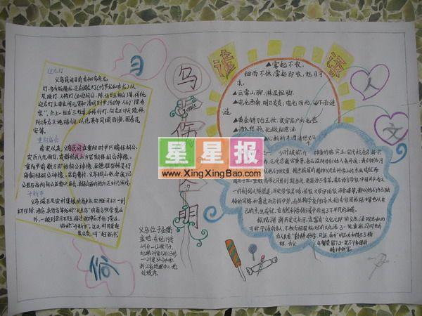 小学文明手抄报 四年级作品
