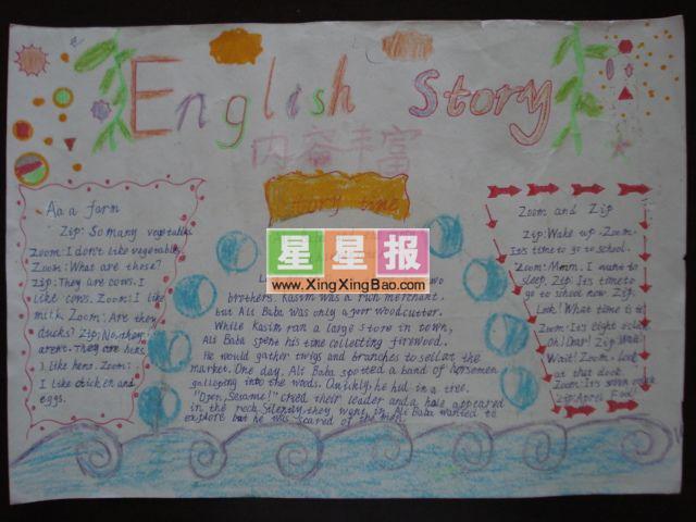 母亲节英语手抄报版面内容设计
