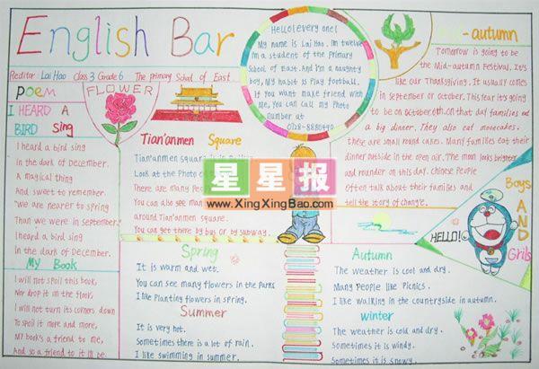 高中英语手抄报资料内容高中英语手抄报资料版面图片