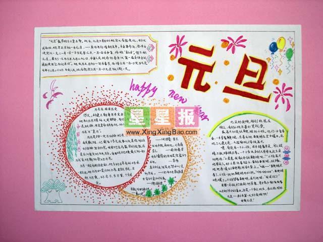 手抄报版面设计过程在史红卫老师的指导下完成.
